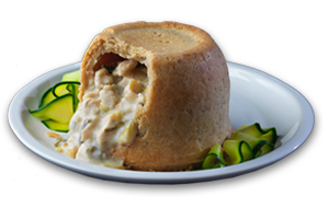 Chicken & Leek Pudding - GBP
