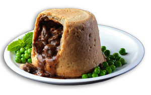 Lamb & Mint Pudding - GBP
