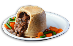 Steak & Kidney Pudding - GBP