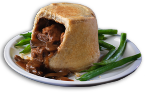 Steak & Mushroom Pudding - GBP